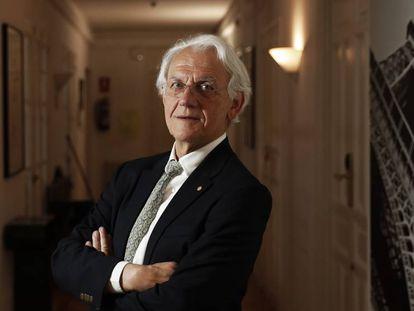 Gérard Mourou, en el Institut Français de Madrid. En vídeo, el físico explica cómo ganó el Nobel de Física por un accidente de laboratorio.