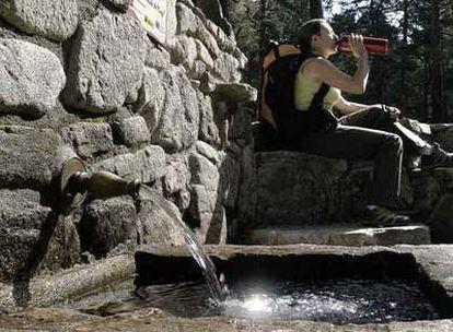 Fuente del Mingo, en el valle de la Barranca.