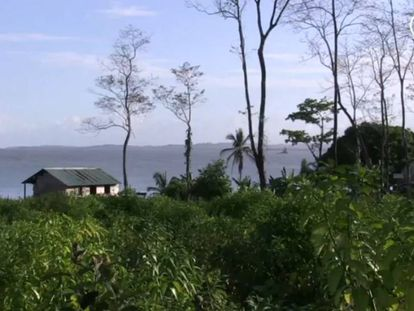 El canal fantasma de Nicaragua