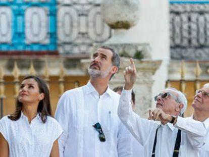 Felipe VI se reúne en La Habana con directivos de compañías demandadas en Estados Unidos