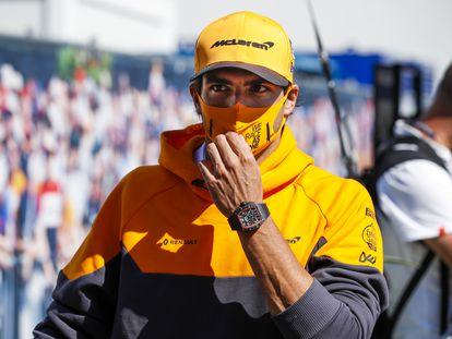 Carlos Sainz, en el Gran Premio de Austria.
