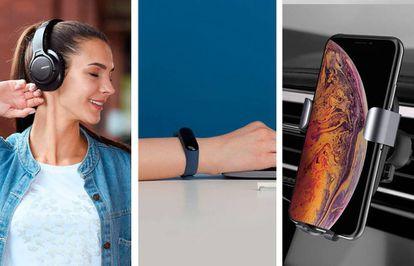 Los auriculares, las pulseras de actividad y los cargadores son accesorios inalámbricos básicos para el móvil.
