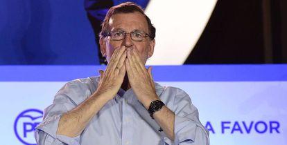 Mariano Rajoy, el pasado 26 de junio.