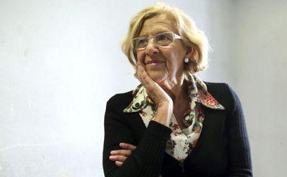 Manuela Carmena, candidata al Ayuntamiento por AhoraMadrid.