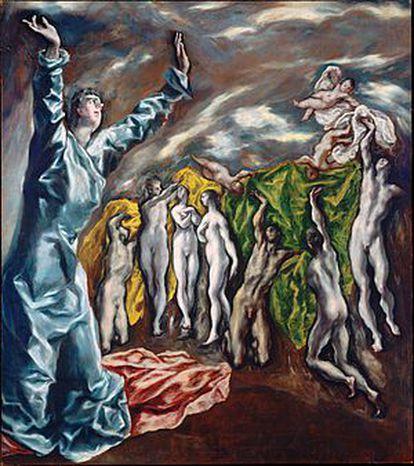 'La apertura del Quinto Sello del Apocalipsis', de El Greco, perteneció al pintor Ignacio Zuloaga y fue una obra decisiva para el Picasso de 'Las señoritas de Aviñón'.