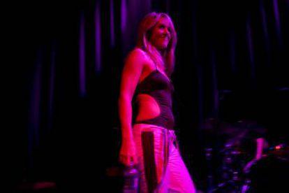 Liz Phair, en 2008, durante la gira del 15 aniiversario de 'Exile in Guyville'.