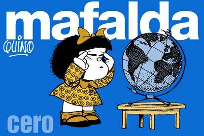 Portada del primer número de la colección 'Mafalda', de EL PAÍS.