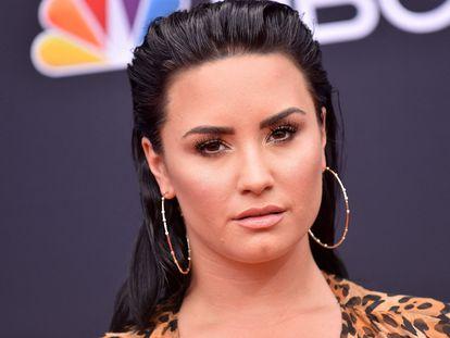 Demi Lovato, en los premios Billboard celebrados en Las Vegas en mayo de 2018.