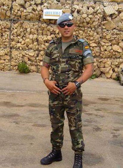 El cabo Cristo Ancor Cabello, fallecido ayer en Afganistán.