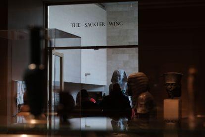 El ala Sackler del Metropolitan Museum de Nueva York.