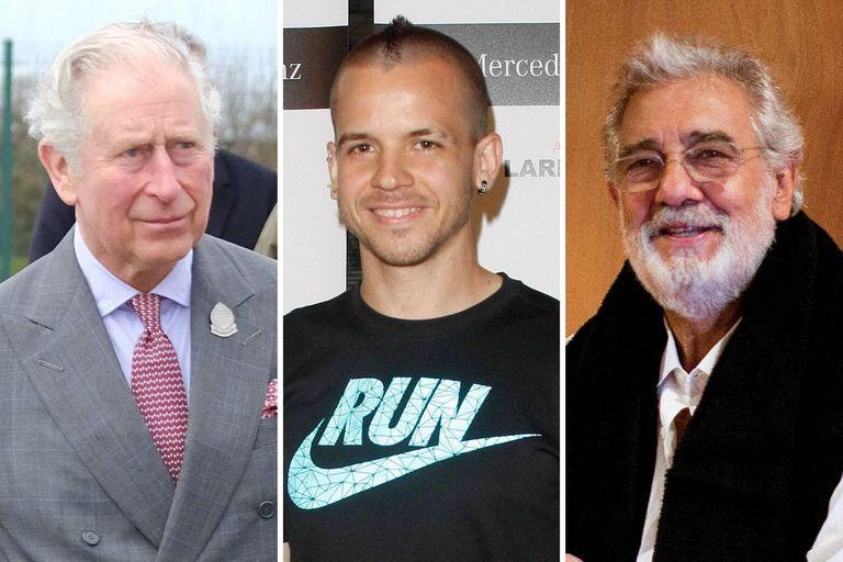 Carlos de Inglaterra, David Muñoz y Plácido Domingo.