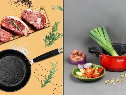 Seleccionamos y ponemos a prueba sets de cocina de la marca Amercook, como ollas, cazuelas y sartenes.