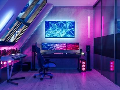 Perfectas para conseguir un ambiente único gracias a su multitud de colores y opciones de velocidad. GETTY IMAGES.