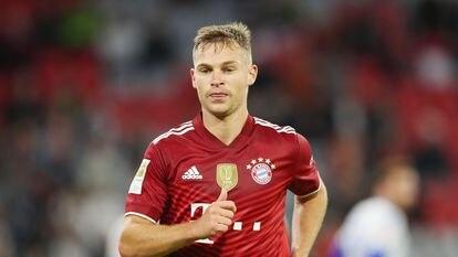 Joshua Kimmich, durante un partido del Bayern esta temporada.