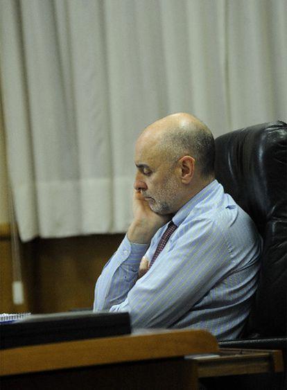 Rodolfo Ares, consejero de Interior del Gobierno vasco, en su despacho.