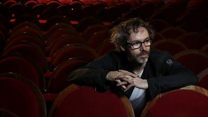 El músico James Rhodes, en el Teatro Pavón de Madrid.