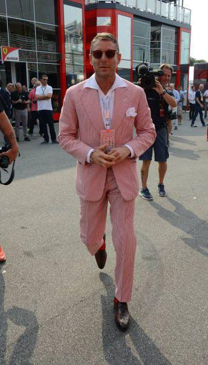 Lapo Elkann, en el circuito de Monza.