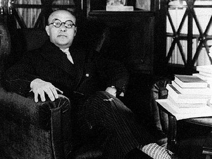 El periodista y escritor Agustí Calvet, 'Gaziel', en los años 30.