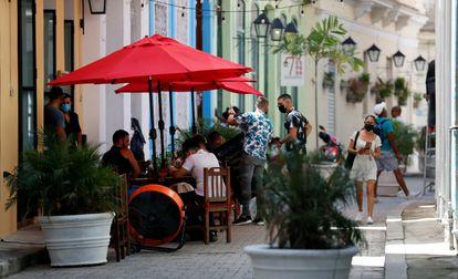 Restaurante en La Habana, Cuba, el 25 de septiembre.