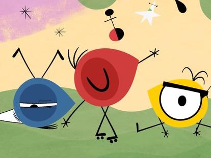 Blue, Ro y Low, los protagonistas de 'Mironins'.