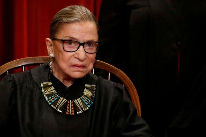 La juez del Tribunal Supremo de Estados Unidos, Ruth Bader Ginsburg.