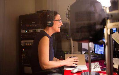 La periodista Sarah Koenig, responsable del 'podcast' 'Serial'.