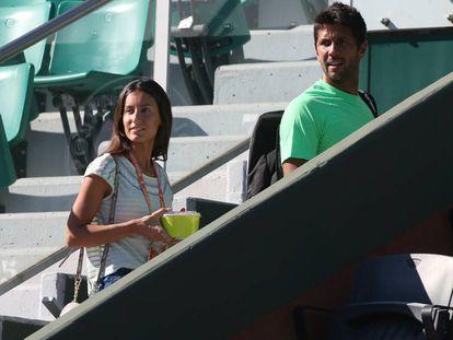 Ana Boyer y Fernando Verdasco, en París