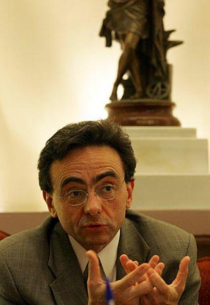 Víctor M. Aguado, director general de Eurocontrol.