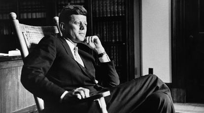 El expresidente John F. Kennedy.