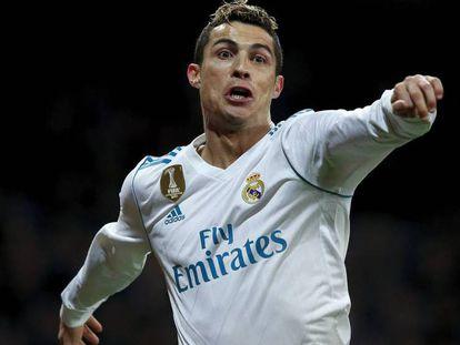 FOTO: Cristiano celebra su segundo gol a la Real Sociedad. / VÍDEO: Declaraciones de Zidane, tras el partido ante la Real Sociedad.