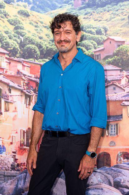 Enrico Casarosa, el 13 de junio, en Génova.
