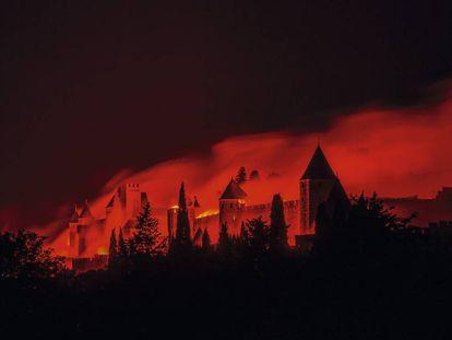 Carcasona, el fuego eterno