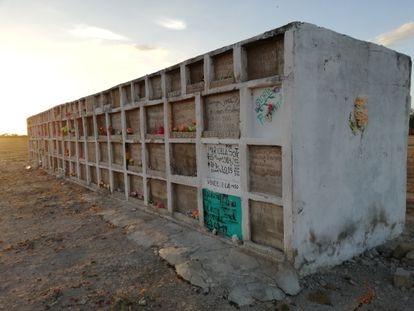 Bóvedas destinadas, en su mayoría, a migrantes venezolanos.