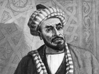 Retrato de Al-Juarismi.