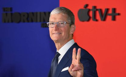 Tim Cook, consejero delegado de Apple, el pasado 28 de octubre en Nueva York.