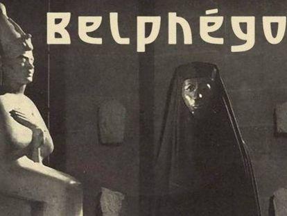 Una imagen de la serie de 1965, 'Belfegor o el fantasma del Louvre'.