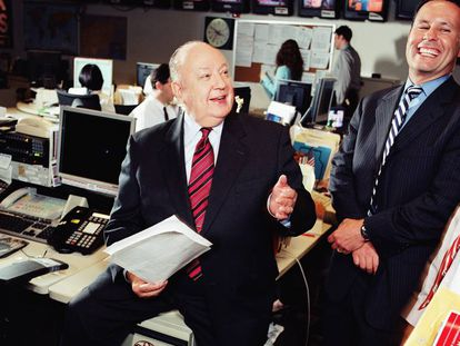Roger Ailes, en Fox News en 2005.
