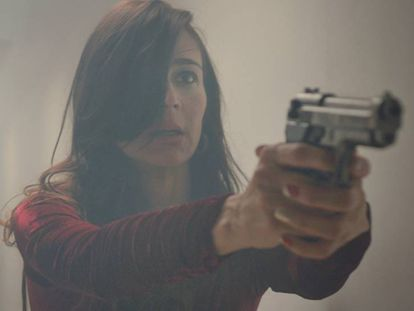 La colombiana Noelle Schonwald en 'La mala noche'.