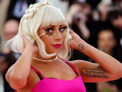 Lady Gaga, en la gala Met en Nueva York, en mayo de 2019.