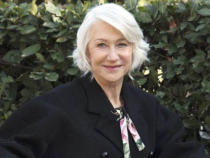 Helen Mirren en Los Angeles.