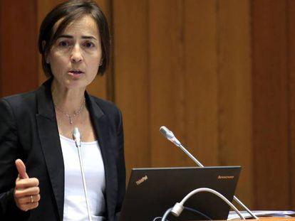 La exdirectora general de Tráfico, María Seguí, en una imagen del pasado junio.