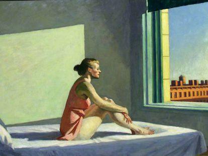 'Sol de la mañana', del pintor Edward Hopper. Museo Purchase Howald Fundation.