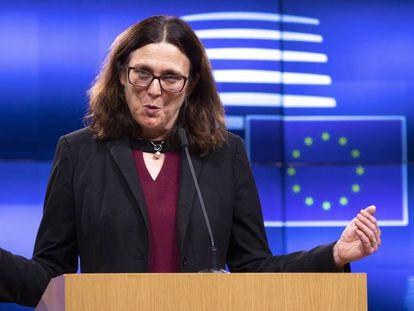 La Comisaria Europea, Cecilia Malmstrom. En vídeo, sus declaraciones.