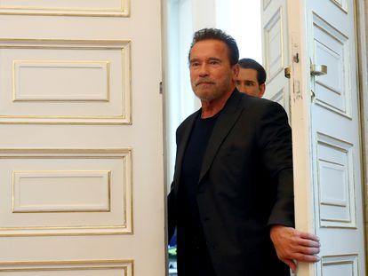Arnold Schwarzenegger, en su Austria natal.
