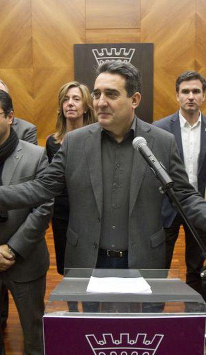 Manuel Bustos, alcalde socialista de Sabadell.