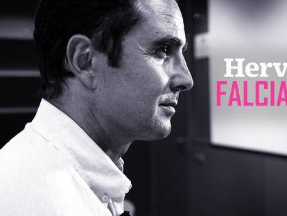 """Hervé Falciani: """"En España he encontrado el mejor ámbito jurídico para defender mis ideales y valores"""""""