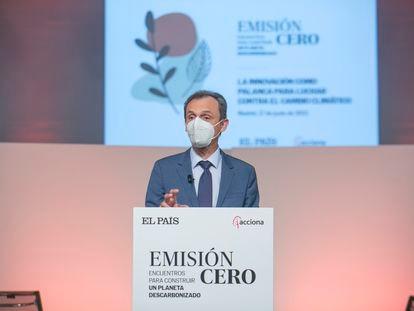 Pedro Duque, ministro de Ciencia e Innovación.