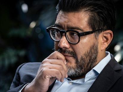 El magistrado Reyes Rodríguez Mondragón durante una entrevista para EL PAÍS en agosto de 2021.