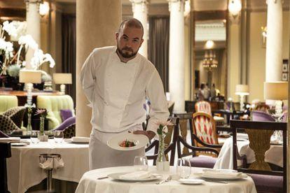 El 'chef' Henrik Kling, del Hotel Westin Palace.