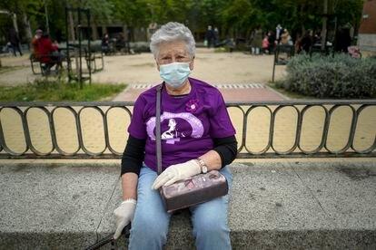 Ana María Pérez, de 78 años, llegó a Orcasitas con seis años desde un pueblo de Toledo.